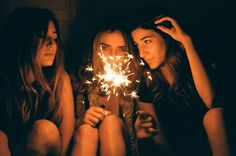 All sizes | Dark girl may never know just how much the light can show | Flickr - Photo Sharing! #sparkler #teen #editorial #girls
