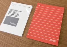 Adstream Brand Identity on Behance #packaging #print #adstream