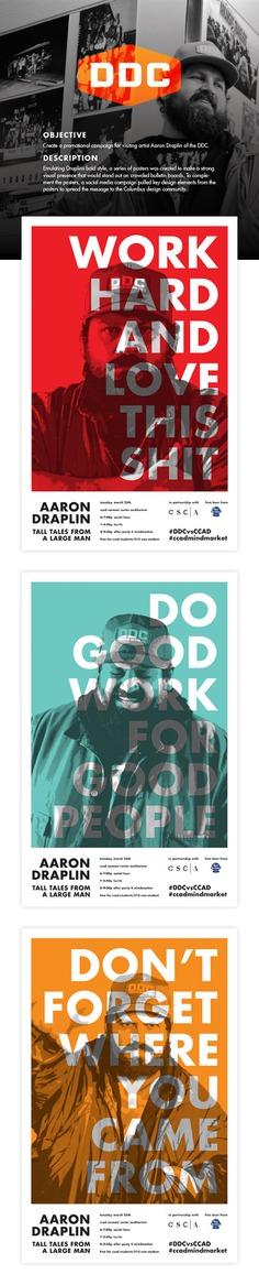 Aaron Draplin Promotions