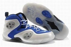nike zoom rookie white blue men sneakers #shoes