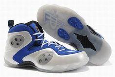 nike zoom rookie white blue men sneakers