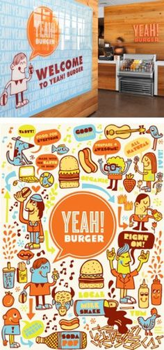 Yeah! Burger - design - work - tad carpenter #burger #carpenter #yeah #tad