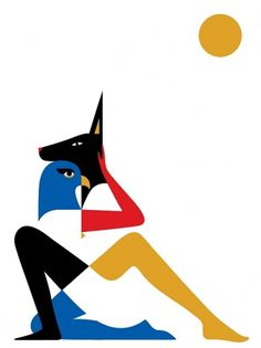 malikafavre #illustration #favre #egyptian #malika