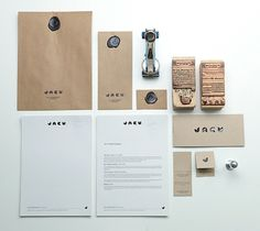 Jacu Coffee Roastery - Visual identity/Branding on the Behance Network #design #identity