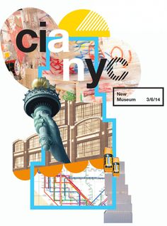 cia + nyc - Nicole #helvetica #collage