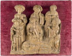 CARVING IN RELIEF: LAMENTATION OVER THE DEAD CHRIST