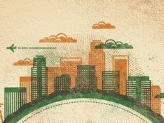 Dribbble - Mystery Project 22 by DKNG #illustration #colors #muted #dkng