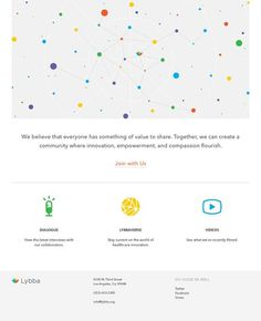 Design Work Life » Outpost: Lybba Identity and Web Design #interface