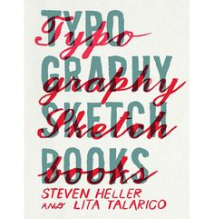 Typography Sketchbooks cover #typo