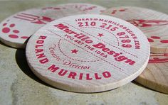 Coaster #design #cards #graphic #business
