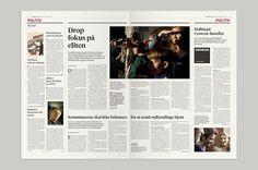 Mega Design #information #print #design #newspaper #mega