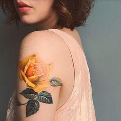 40 Eye-catching Rose Tattoos