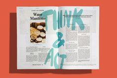 Manifest — Tsto #print #editorial #typography