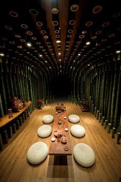 Lotus & Bamboo Tea Room by Minax - www.homeworlddesign. com (5) #design #room #tea