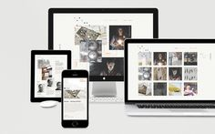 Curious Space #responsive #design #website #digital #mobile #web