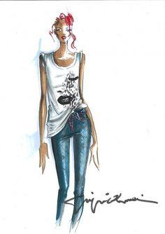 Design You Trust – Design and Beyond! #illustration #girl