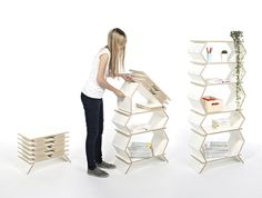 Stockwerk Shelf - #design,#furniture,#modernfurniture,