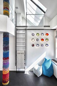 TriBeCa Triplex by Wunderground Architecture