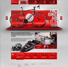Specialized Bicycles Website Design #webdesign