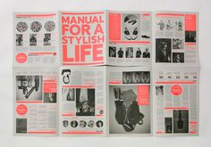 manual leaflet #magazine