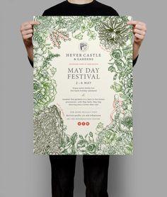 Hever Castle & Gardens  Rebrand