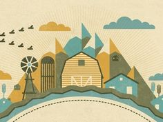 Dribbble - Mystery Project 22.1 by DKNG #illustration #colors #muted #dkng