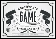 LMS #game #new zealand #certificate #certificate of game #lets make something