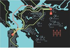 Lamosca, Visualization . Wired. Apr. 2009 #lamosca #maps #barcelona