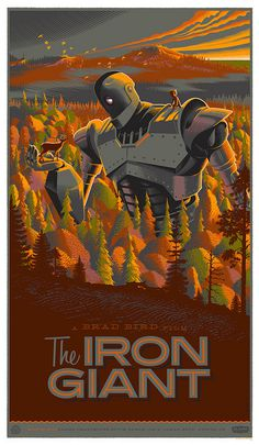 iron giant #poster #iron #giant #laurent #durieux