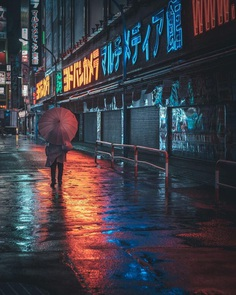 Cityscape and Street Night Photography by Nathan Ackley