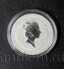 Coin, $ 100. Australia, 1990