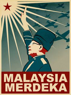 Merdeka and Mouse #propaganda #independent #illustration #malaysia