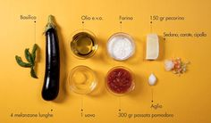 parmigiana_ingredienti #ingredients #italian #recipe #food