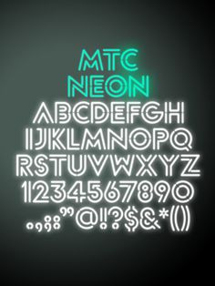 MTC_01 #font #theatre #typography #interbrand #melbourne #company #neon