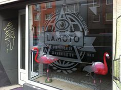 Lamoto Shop Window #icon #graphics #environmental #design