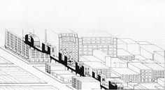 same highline, another era. STEPHEN HOL LBRIDGE OF HOUSES ON THE CHELSEA HIGHLINE 1979-82 #urban