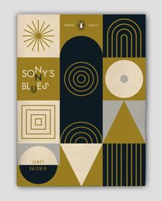 """Sonny's Blues,"" design by Eric Ellis #design #retro #book #cover #eric #sonnys #penguin #ellis #blues"