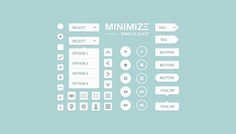 Minimize kit Free Psd. See more inspiration related to Web, Elements, Buttons, Psd, Web elements, Web button, Horizontal, Kit and Minimize on Freepik.