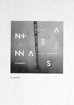 antennas — typography - Astronaut / Bench.li #print #poster