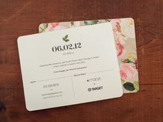 Wedding Design #print #wedding #invitation