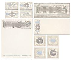 Jono Garrett #stationary #print #logo #brand #identity #type