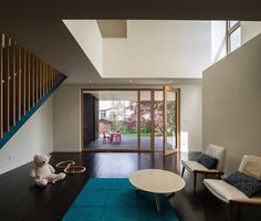 Contemporary Box-Shaped Extension for a Bungalow Home in Maryland 3