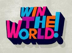 Win the World!   Erik Marinovich #marinovich #worlderik #win #the