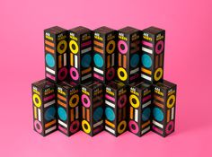 Packaging designed by Bond for confectionery brand Allsorts #design #package