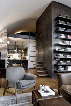 Loft 9B #meshroom #interior #loft #design