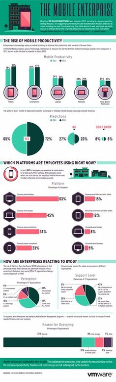 The Mobile Enterprise #infographics #enterprise #mobile #business