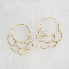 18k Cumulus Earrings
