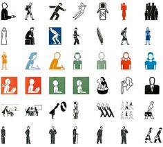 We Made This Ltd #iconography #pictograms #logo #gerd #arntz