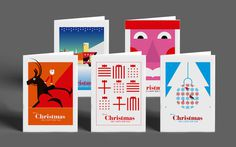Christmas Cards by Nick Hill #Christmas #Christmas cards #Illustration #Card