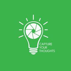 Capture Your Thoughts on the Behance Network #thoughts #shirt #workshops #photography #lightbulb #logo